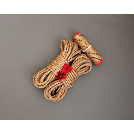 2 Jute Bondage Ropes & Wax Play Candle Kit for BDSM Shibari