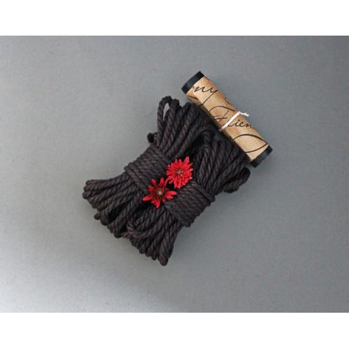 2 Jute Bondage Ropes & Wax Play Candle Kit for BDSM Shibari
