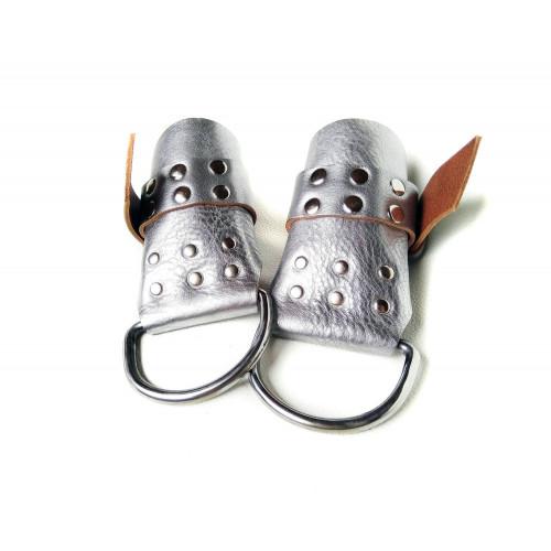 Leather BDSM Suspension Handcuffs