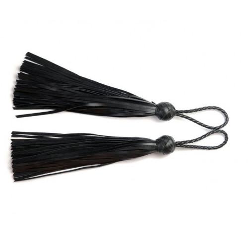Leather Mini Loop Flogger Whip for Florentine BDSM