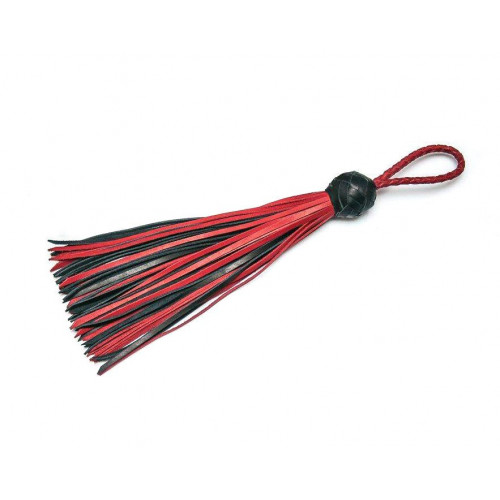Leather Mini Loop Flogger Whip for Florentine BDSM