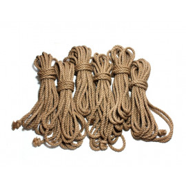 8 mm Jute Shibari Bondage Rope for BDSM
