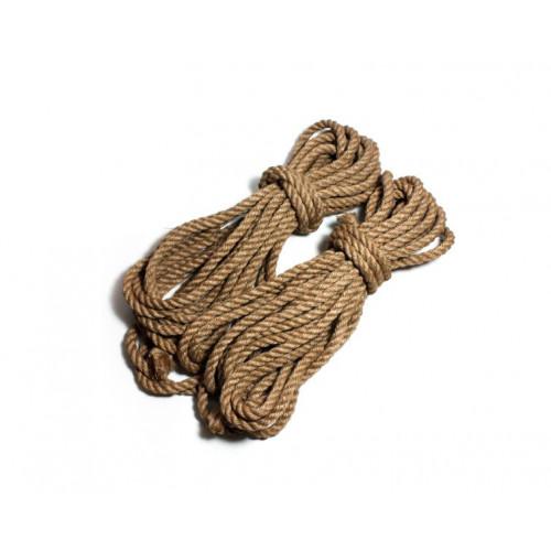 8 mm Jute Shibari Bondage Rope for BDSM