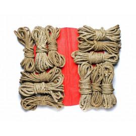 12x26ft Jute Bondage Rope Set for BDSM Shibari