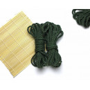 3x26ft Jute BDSM Shibari Jute Rope Nature Green