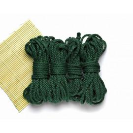 4x26ft BDSM Jute Shibari Bondage Rope Nature Green