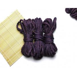 3x26ft Jute BDSM Shibari Bondage Rope Purple