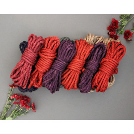 12x26ft Jute Bondage Rope Set for BDSM Shibari