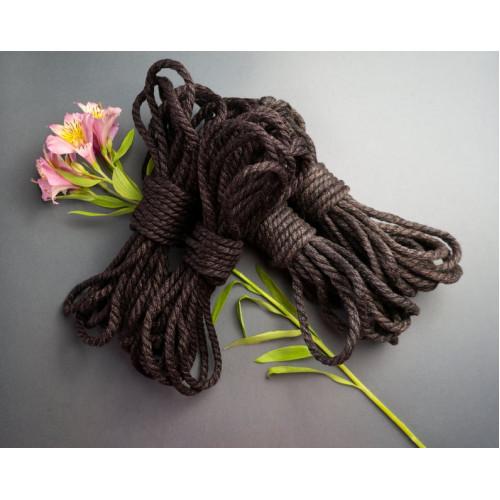 3x26ft Bondage Rope Black