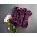 4x26ft Jute BDSM Shibari Rope Purple for Bondage