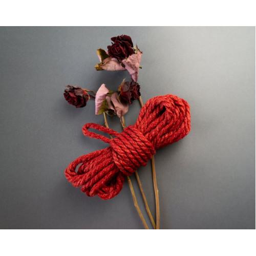 4x26ft Bondage Rope Red