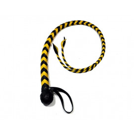 BDSM Whip with Split Tongue (Double Colored)