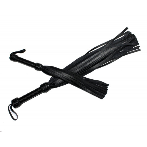 Set of Leather Flogger Whips for BDSM