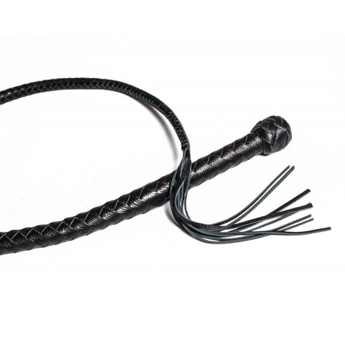 Silicone Core Single Tail Whip with Tassel